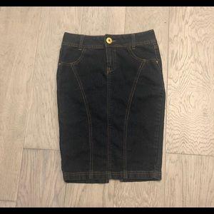 Guess Dark Blue Denim Skirt